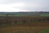 La vallee de la Marcaissonne depuis Preserville