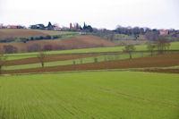 Preserville depuis la vallee de la Marcaissonne