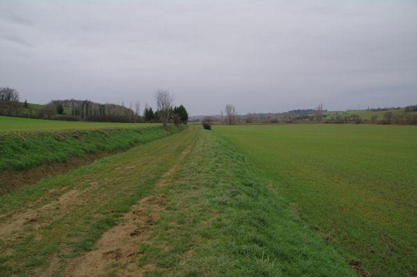 La vallée de la Marcaissonne vers En Combes
