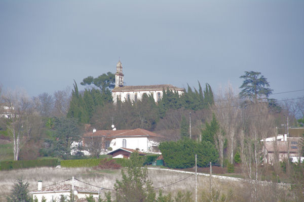 L_église de Lauzerville