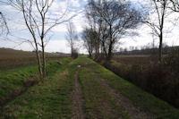 Le chemin dans la vallee de la Marcaissonne sous Borde Grande
