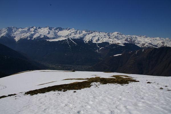 Bagnères de Luchon et les sommets environnants