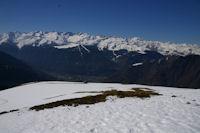Bagneres de Luchon et les sommets environnants