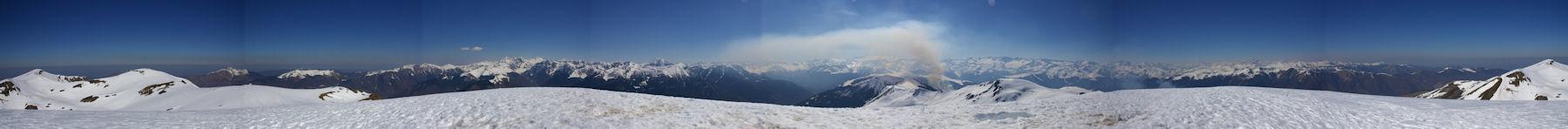 Panorama 360° au Pic de Bacanère