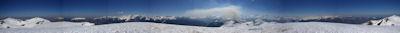 Panorama 360° au Pic de Bacanere