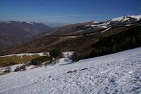 Au loin la vallee de Luchon