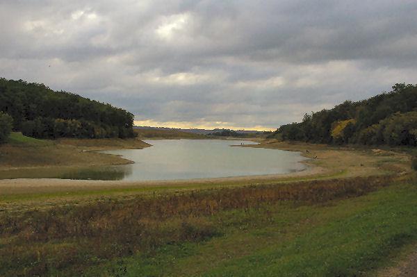 Le lac de la Balerme extrémité nord