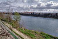 Les berges de la Garonne aux Pont Jumeaux