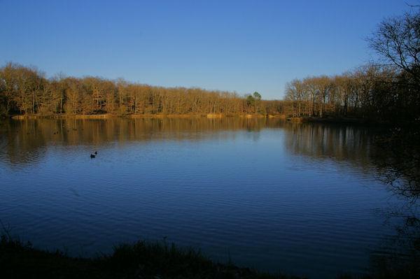 Le Lac de la Bordette en forêt de Bouconne