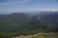 La vallee de Bouigane menant a Castillon Couseran depuis le Pic de Cagire