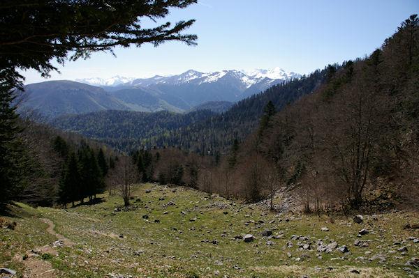 La montée vers le Col du Pas de l&#39Ane