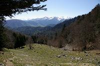 La montee vers le Col du Pas de l'Ane