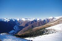 La vallee d'Oueil depuis le Cap de la Pique de Plas