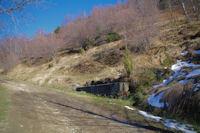 Un abreuvoir en montant vers le Bois d'Artigue