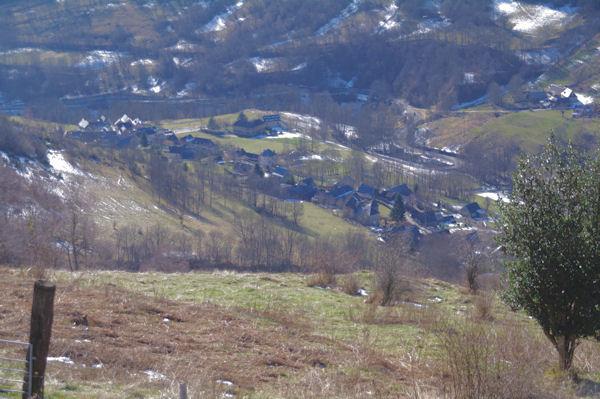 St Paul d_Oueil depuis le Bois d_Artigue