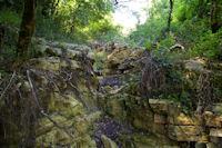Erosion pres du Chateau de la Nine