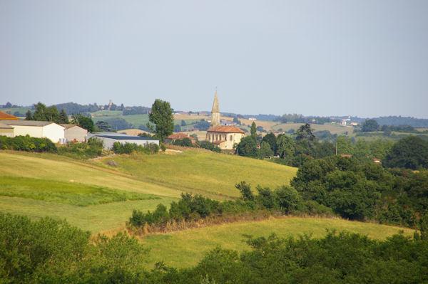 St André depuis Biron