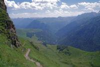 La vallee du Lis depuis Templa