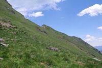 L'ante-cime du Pic de Cecire depuis les pentes du Sommet de la Coume de Bourg