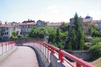 Passerelle pour acceder a Montrejeau