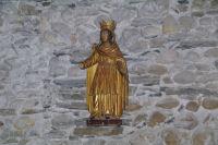 Belle statue en bois dore