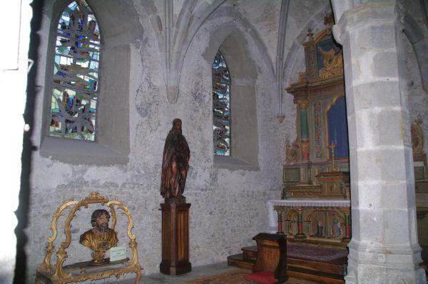 Buste reliquaire de St Barthélémy