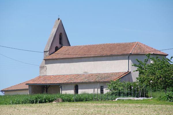 L_église de Montgaillard sur Save