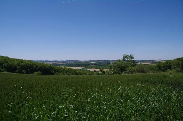 La vallée de la Save depuis Counan