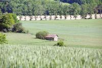 Une cabane a Nougue depuis Landery