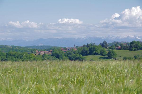 St Lary Boujean depuis Lasserre