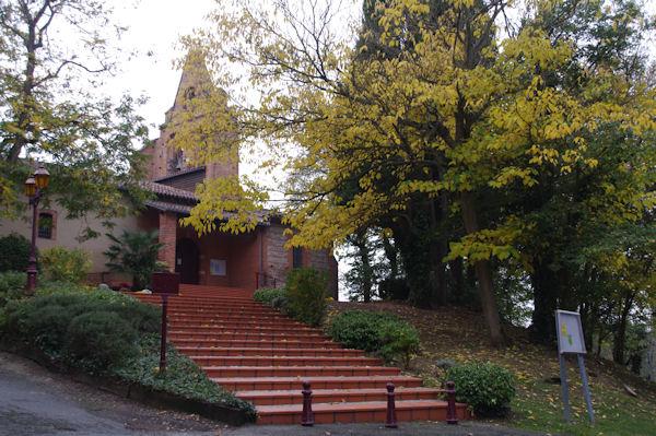 L_église de Cornebarrieu