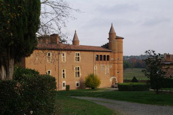 Le château de Pibrac