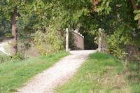 Le pont sur le Courbet sous Pibrac