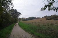 Le GR86 dans la vallee de l'Aussonnelle vers Metge