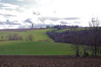 Le chateau Latomy depuis Vassal
