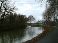 Le pont sur la D24 entre Montgiscard et Ayguevives