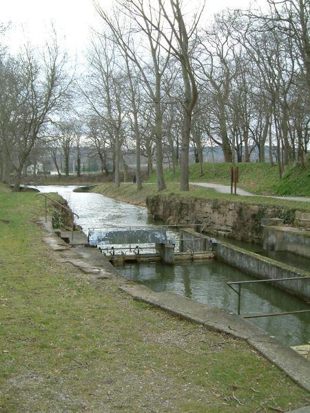 L&#39alimentation en eau du Canal du Midi