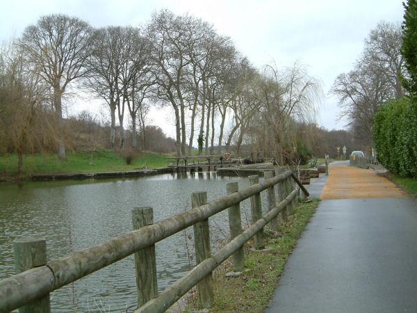 L&#39écluse de En Cassan