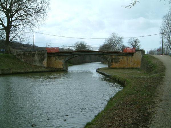 Le pont de la D80a