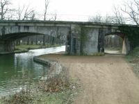 Le Pont du Chemin de Fer apres Avignonet Lauragais
