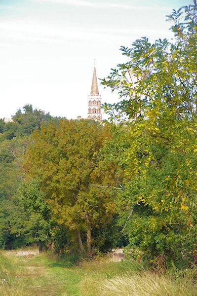 Ste Foy de Peyrolières depuis Castagné