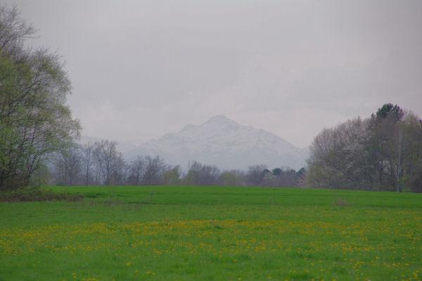 Le Montaigu depuis Escoubeillan