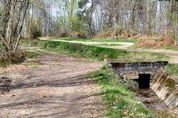 Le passage pour rejoindre l'ancienne voie romaine Toulouse - Tarbes