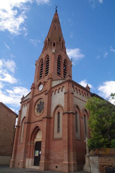 L_église de Fourquevaux