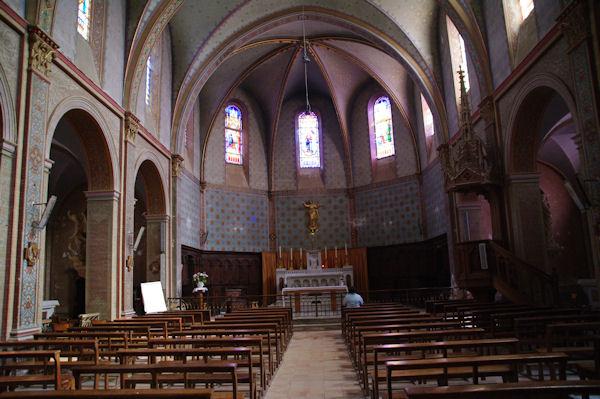 Dans l_église de Labastide Beauvoir