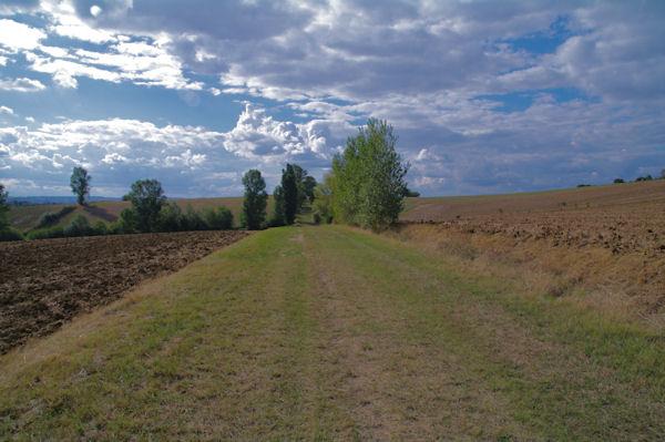 Le chemin vers La Grande Devèze