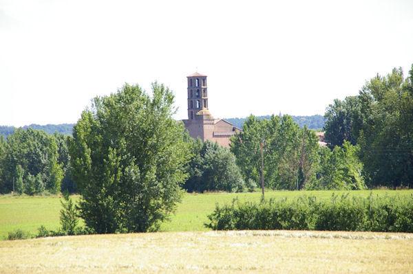 L_église de Buzet sur tarn