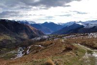 Au fond, la vallée de Luchon