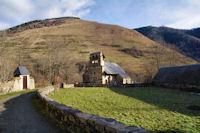 L_église St Blaise de Benqué Dessus et Dessous