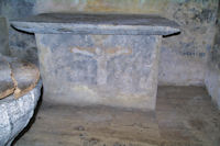 L_autel de l_église St Blaise de Benqué Dessus et Dessous